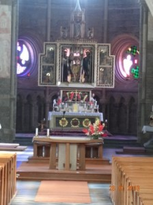 Altar der Basilika von Trebic.