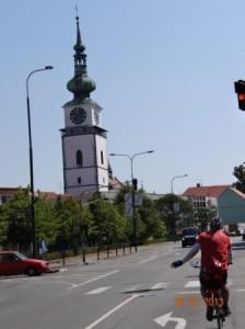 Anfahrt nach Trebic - Stadt des UNESCO Weltkulturerbes
