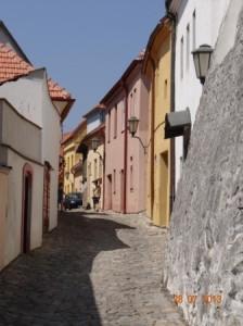 Das jüdische Viertel in Trebic.
