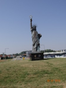 Die Amis sind immer und überall - Freiheit für Tschechien.
