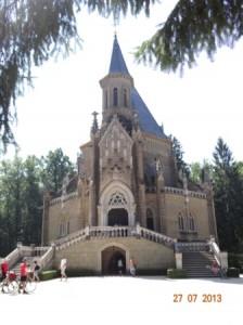 Die Grabstätte der adligen tschechischen Familie Schwarzenberg