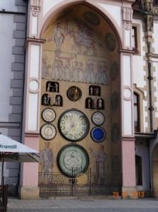 Die Kunstuhr von Olomouce = Ölmütz