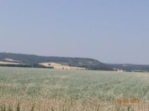 Landschaft in Mähren.