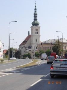 Wunderschöne Städte in Mähren - hier Vyskov.