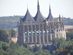 Fantasy pur - oder doch echt? Burg Hogwart mitten in Tschechien, leider trafen wir Harry nicht an. Er war grade in den Ferien.