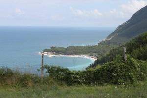 Die Landschaft von den Höhen Anconas aus gesehen - Teil 1