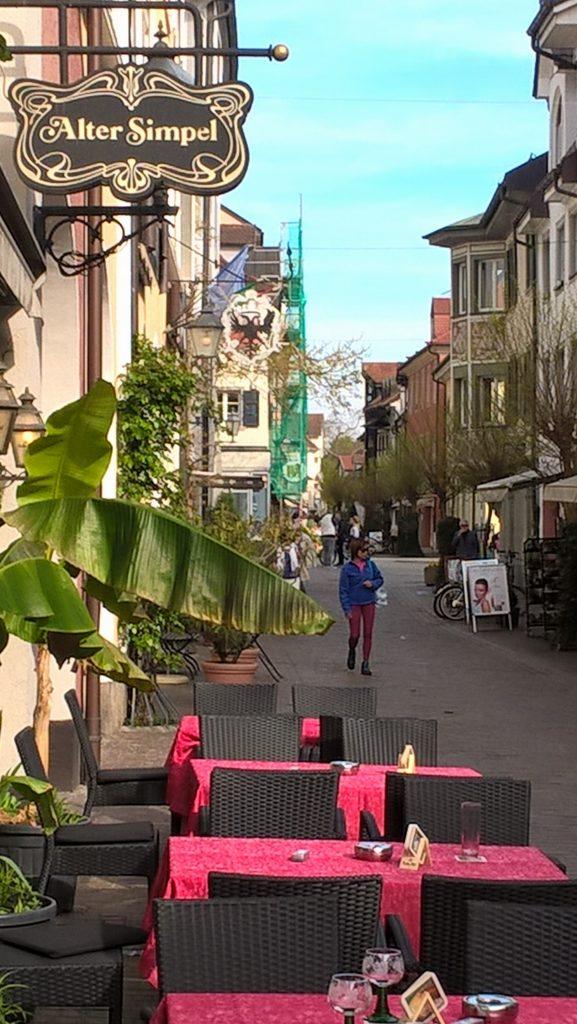 Impressionen aus Radolfzell. Fast schon wie im Süden jenseits der Alpen. Und auch ein bisschen wie München.