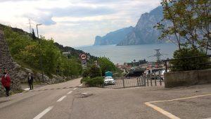Ein letzter Blick auf meinen geliebten Gardasee. Jetzt geht es weiter Richtung Alpen