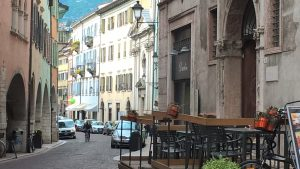 Mittagspause in Trento