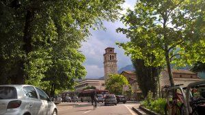 Eindrücke aus Trento, während ich verzweifelt die Etsch suche