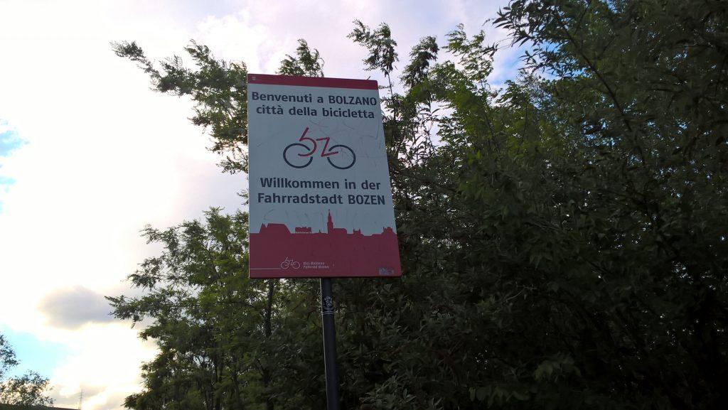 Endlich in Bozen an der Endstation der Reise.